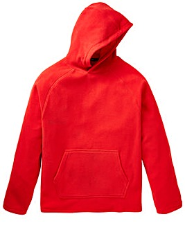 Capsule Red Hooded Fleece