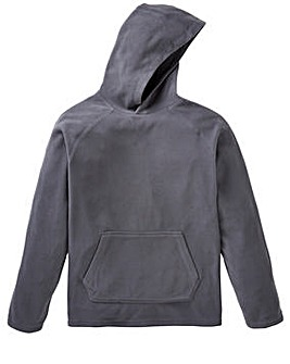 Capsule Slate Grey Hooded Fleece