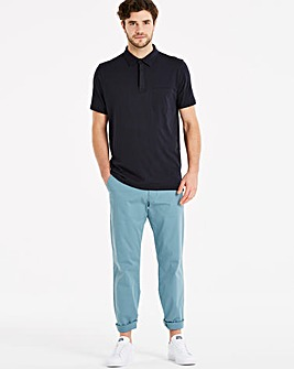 Capsule Blue Stretch Chinos 33in