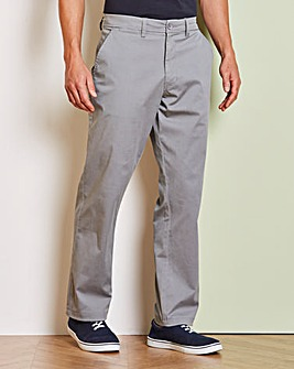 Capsule Grey Stretch Chinos 31in