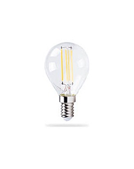 HOME 4W LED SES Golfball Bulb - 3 Pack.