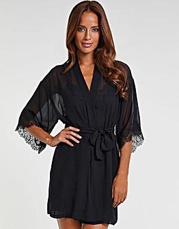Scarlett Silk Chiffon Robe