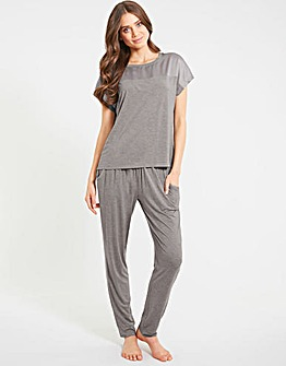 Camelia Soft Touch Tapered Leg PJ Set