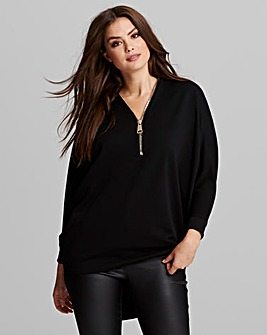 AX Paris Slouch Zip Top
