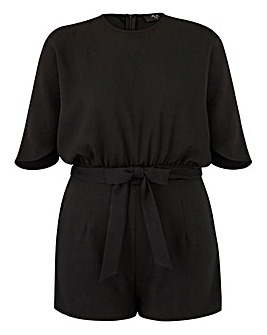 AX Paris Curve Cold Shoulder Playsuit