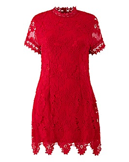 AX Paris Curve Crochet Dress
