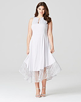 Coast Rach Rose Lace Dress