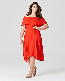 Coast Brooke Bandeau Midi Dress