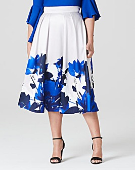 Coast Printed Positiano Skirt