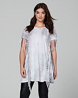 Religion Fury Tassel Top