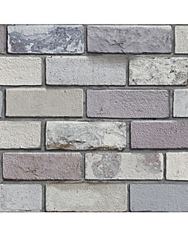 Arthouse Industrial Brick Wallpaper