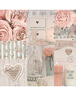 Arthouse Diamond Rose Wallpaper