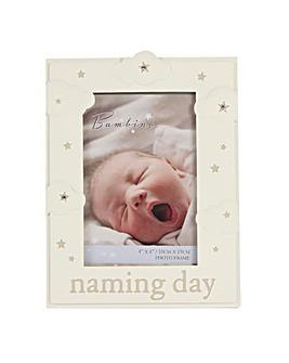 Bambino Naming Day Photo Frame