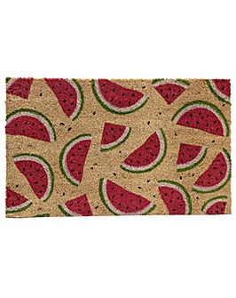 Coir Door Mat - Watermelon Design