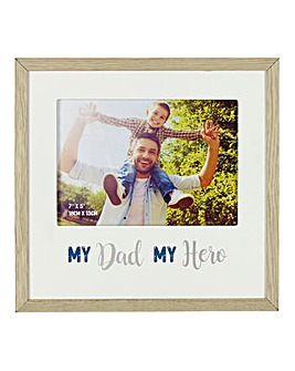 My Dad My Hero Photo Frame