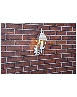 4 Panel 100 Watt PIR Lantern - White