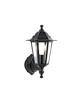 HOME Outdoor Wall Lantern - Black.