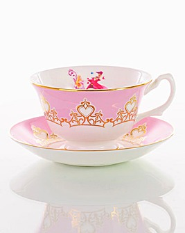 Sleeping Beauty Cup and Saucer Set