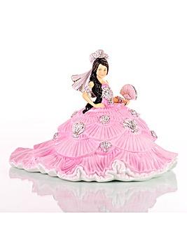 Thelma Madine Gypsy Fan-Tasy Pink Fig