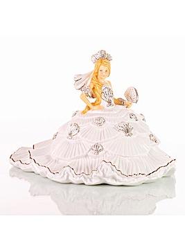 Thelma Madine Gypsy Fan-Tasy White Fig