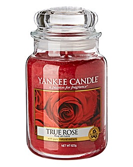 Yankee Candle True Rose Large Jar