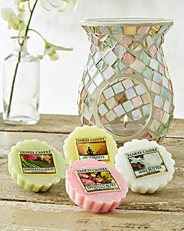 Yankee Candle Harmony Melt Warmer Set