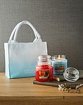 Yankee Candle Medium Jar bag Set