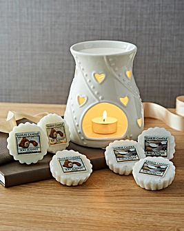 Yankee Candle Baby Powder Melt Gift Set
