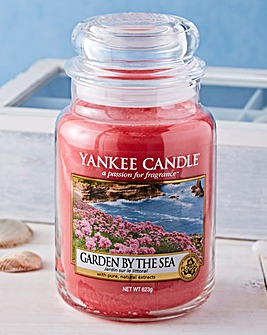 Yankee Candle Garden by the Sea Jar