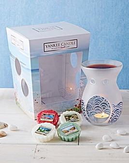 Yankee Candle Coastal Living Melt Set
