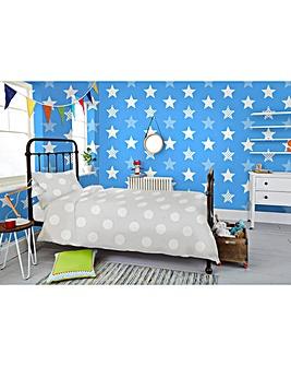 Superstar Blue Wallpaper