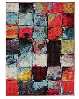 Radiant Square Rug