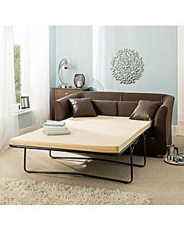 Malaga Faux Leather Metal Sofabed