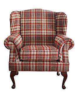 Hamilton Wingback Accent Chair