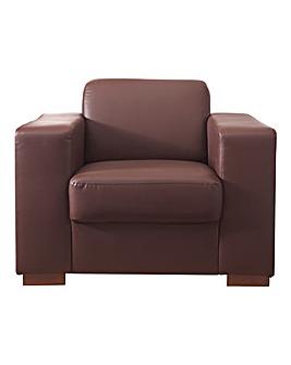 Memphis Faux Leather Armchair