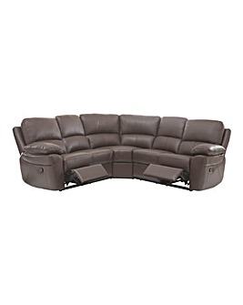 Milan Leather Recliner Corner Group
