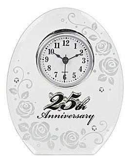 Mirror Anniversary Clock