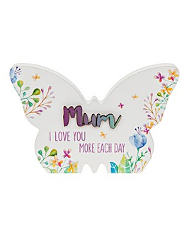 Floral Sentiment Butterfly