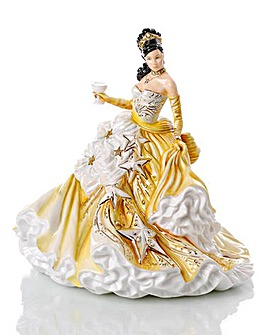 Congratulations Figurine with 24ct gold