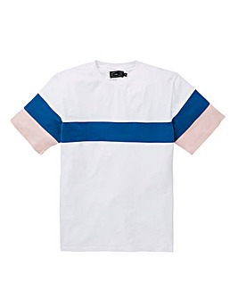 Label J Sports Panel Tee Regular