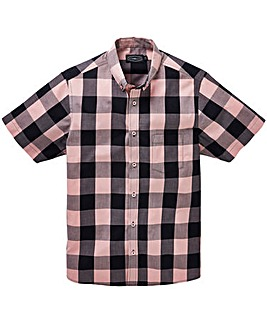 Label J Checked Shirt Long