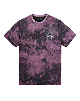 Label J Tie Dye Print Tee Long