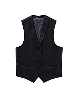 Black Label Jacquard Party Waistcoat