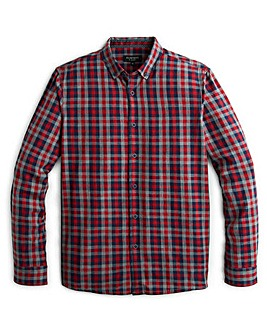 Flintoff By Jacamo Melange Shirt Long