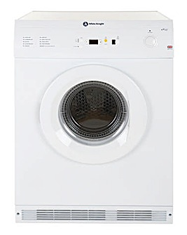 White Knight Vent 7kg Sensor Rev Dryer