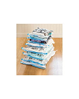 Protect & Store 8 Piece Flat Vacuum Bags