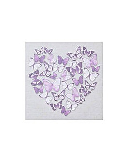 Collection Butterfly Heart Canvas