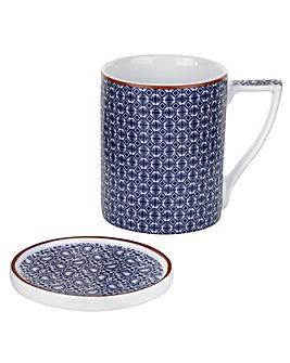 Ted Baker, Mug & Coaster  - Malton II