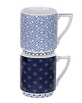 Ted Baker, Stacking Mug x2 - Balfour 1&2