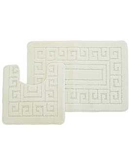 Greek Key Bath-Set